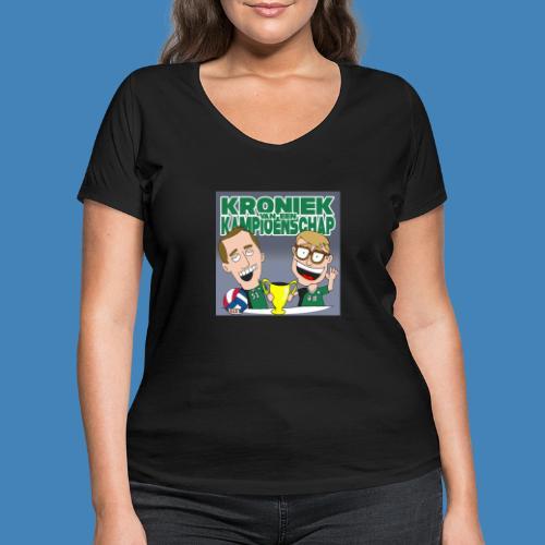 Kroniek van een Kampioenschap - Vrouwen bio T-shirt met V-hals van Stanley & Stella