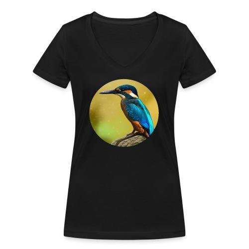 Colors of the wind - Økologisk Stanley & Stella T-shirt med V-udskæring til damer