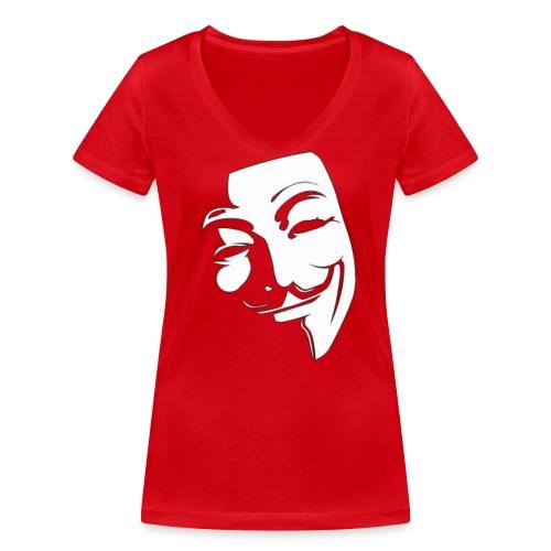 imageedit 17 8064343232 gif - Stanley & Stellan naisten v-aukkoinen luomu-T-paita