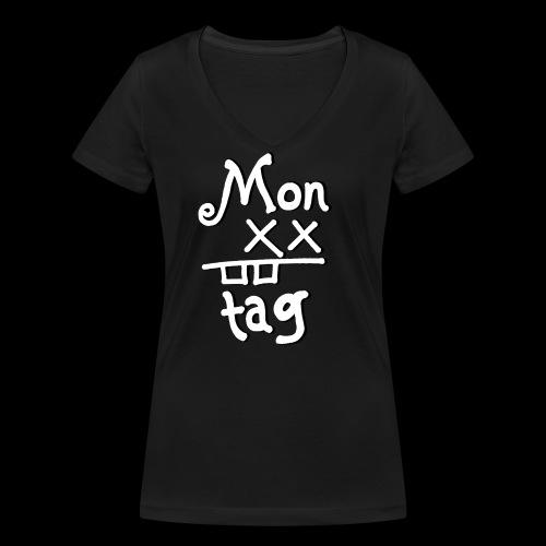 Montag x_x - Frauen Bio-T-Shirt mit V-Ausschnitt von Stanley & Stella