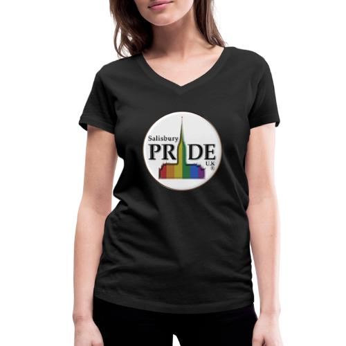 Salisbury Pride UK - Women's Organic V-Neck T-Shirt by Stanley & Stella
