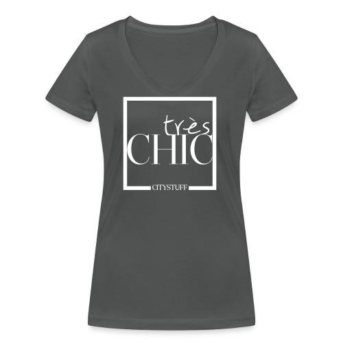 treschic_final - Frauen Bio-T-Shirt mit V-Ausschnitt von Stanley & Stella