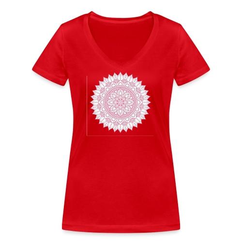 Mandala - Women's Organic V-Neck T-Shirt by Stanley & Stella
