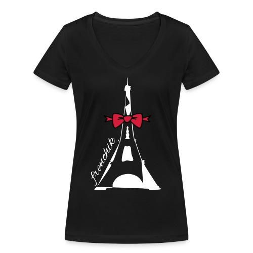 FRENCHIK_1511 - T-shirt bio col V Stanley & Stella Femme