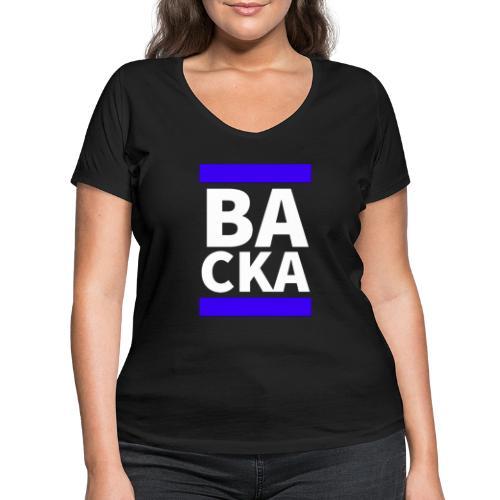 Backa - Ekologisk T-shirt med V-ringning dam från Stanley & Stella