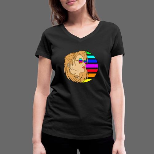 SunWoman - Frauen Bio-T-Shirt mit V-Ausschnitt von Stanley & Stella