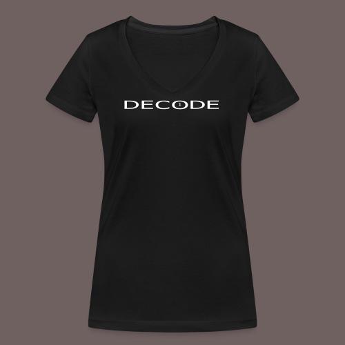 GBIGBO zjebeezjeboo - Rock - Décoder [FlexPrint] - T-shirt bio col V Stanley & Stella Femme