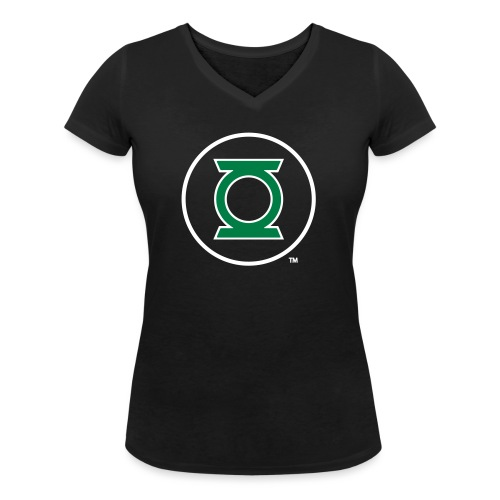 Green Lantern Logo Flex - Frauen Bio-T-Shirt mit V-Ausschnitt von Stanley & Stella