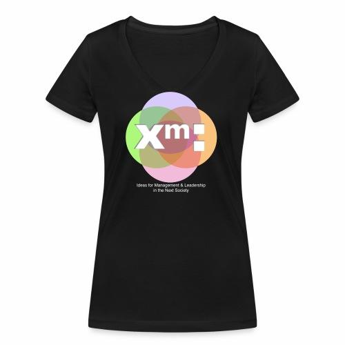 xm-institute - Frauen Bio-T-Shirt mit V-Ausschnitt von Stanley & Stella