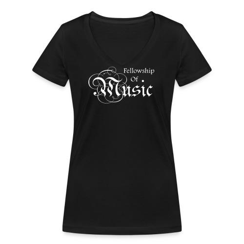 Large Logo Small Version - Frauen Bio-T-Shirt mit V-Ausschnitt von Stanley & Stella