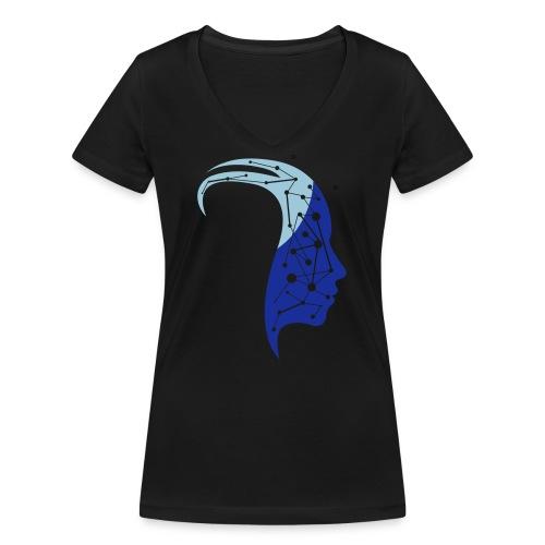 Lost in mind - Frauen Bio-T-Shirt mit V-Ausschnitt von Stanley & Stella