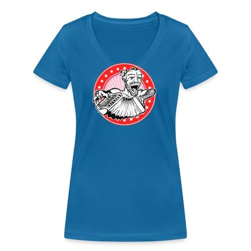Django Pully - Vrouwen bio T-shirt met V-hals van Stanley & Stella