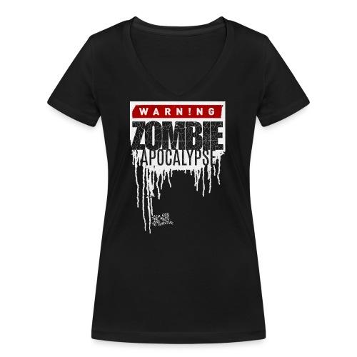 ZOMBIE APOKALYPSE - Frauen Bio-T-Shirt mit V-Ausschnitt von Stanley & Stella