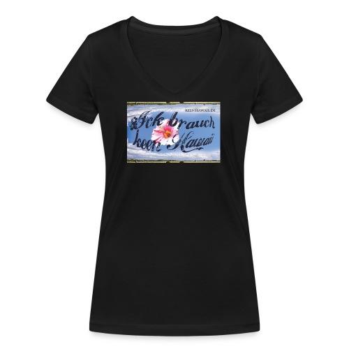 ibkh logo 2018 - Frauen Bio-T-Shirt mit V-Ausschnitt von Stanley & Stella