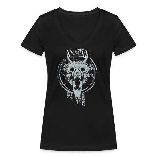 Valhalla Fenrir - Økologisk Stanley & Stella T-shirt med V-udskæring til damer