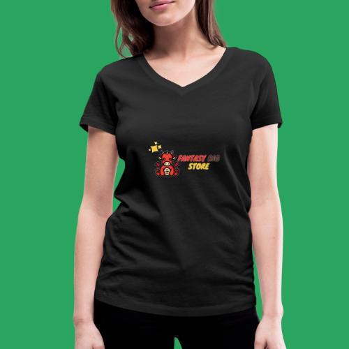 Fantasy big store - T-shirt ecologica da donna con scollo a V di Stanley & Stella