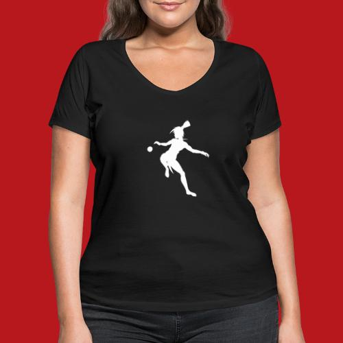 Joueur d'Ulama - T-shirt bio col V Stanley & Stella Femme