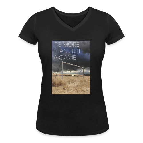 more - Women's Organic V-Neck T-Shirt by Stanley & Stella