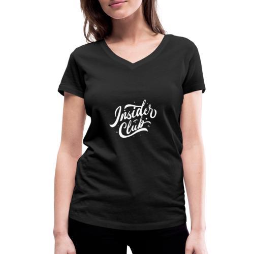 Insider Club - Frauen Bio-T-Shirt mit V-Ausschnitt von Stanley & Stella