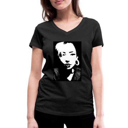 Yami03 - Frauen Bio-T-Shirt mit V-Ausschnitt von Stanley & Stella