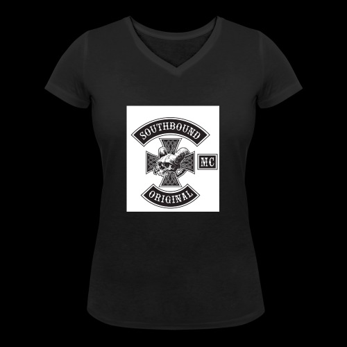 SOUTHBOUND - Stanley & Stellan naisten v-aukkoinen luomu-T-paita