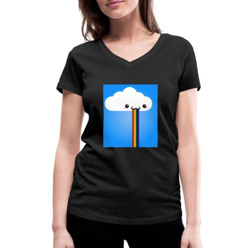 rainbow - Frauen Bio-T-Shirt mit V-Ausschnitt von Stanley & Stella
