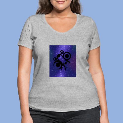 Should I stay or should I go Space 1 - T-shirt bio col V Stanley & Stella Femme