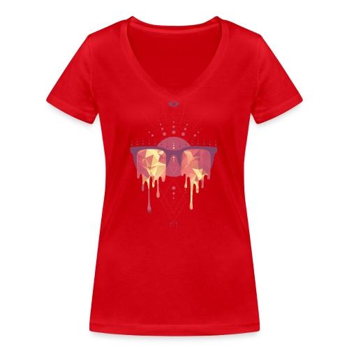 summer png - Økologisk Stanley & Stella T-shirt med V-udskæring til damer