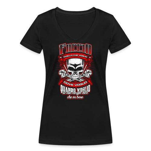 Meccanico: ...se mia moglie dice che va bene - T-shirt ecologica da donna con scollo a V di Stanley & Stella
