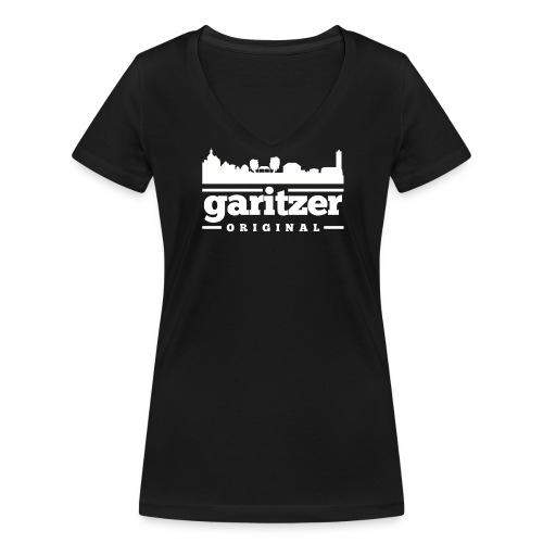 tshirt skyline garitz png - Frauen Bio-T-Shirt mit V-Ausschnitt von Stanley & Stella