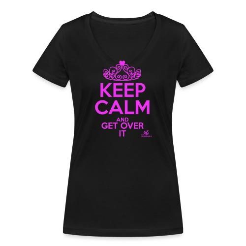 Get over it 2 - Frauen Bio-T-Shirt mit V-Ausschnitt von Stanley & Stella