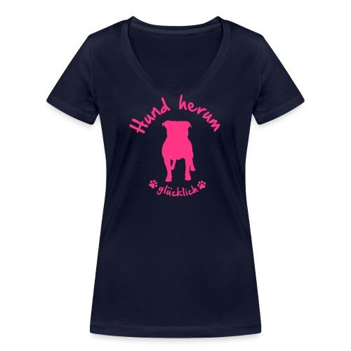 Vorschau: BULLY herum - Frauen Bio-T-Shirt mit V-Ausschnitt von Stanley & Stella
