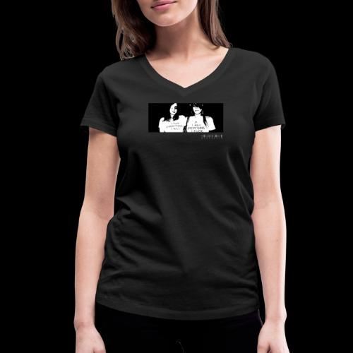 HYDRAULIX PARTY GIRLS - Women's Organic V-Neck T-Shirt by Stanley & Stella