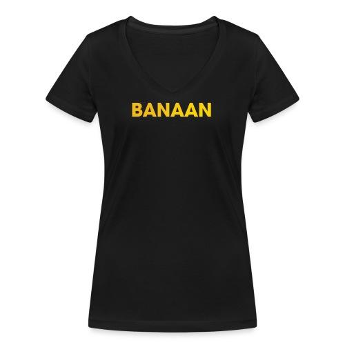 BANAAN 01 - Vrouwen bio T-shirt met V-hals van Stanley & Stella