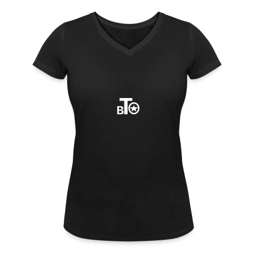 BTO - Ekologisk T-shirt med V-ringning dam från Stanley & Stella