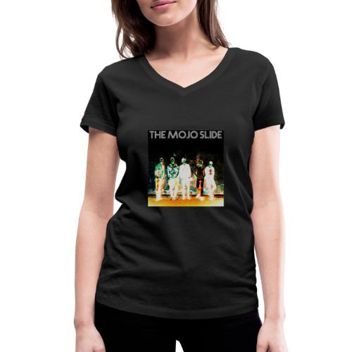 The Mojo Slide - Design 2 - Women's Organic V-Neck T-Shirt by Stanley & Stella