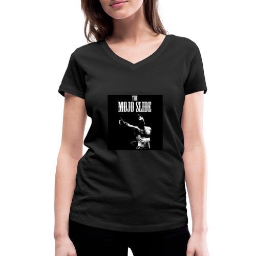 The Mojo Slide - Design 1 - Women's Organic V-Neck T-Shirt by Stanley & Stella