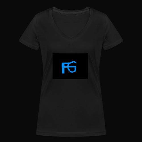 fastgamers - Vrouwen bio T-shirt met V-hals van Stanley & Stella