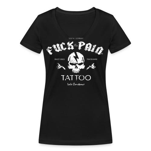 skulliz png - Frauen Bio-T-Shirt mit V-Ausschnitt von Stanley & Stella