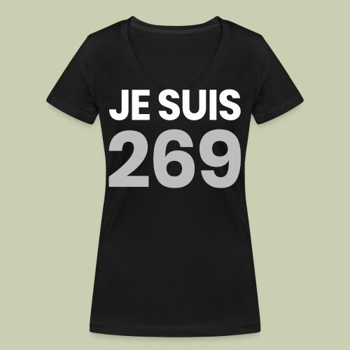 Je suis 269 - Frauen Bio-T-Shirt mit V-Ausschnitt von Stanley & Stella