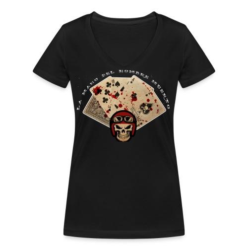 camiseta 2 png - Camiseta ecológica mujer con cuello de pico de Stanley & Stella