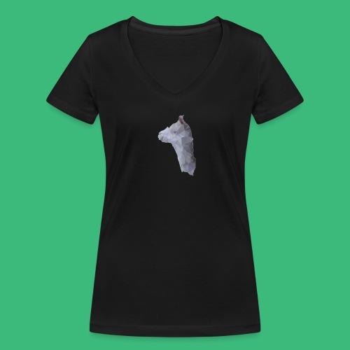 Lama KristalArt / alle kleuren - Vrouwen bio T-shirt met V-hals van Stanley & Stella