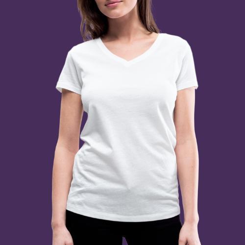 Modello 47 png - Women's Organic V-Neck T-Shirt by Stanley & Stella