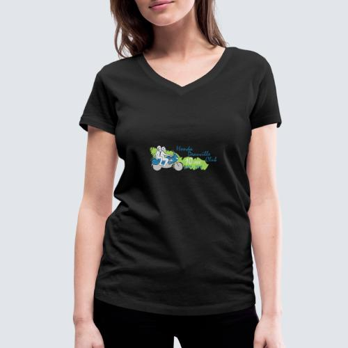 HDC jubileum logo - Vrouwen bio T-shirt met V-hals van Stanley & Stella