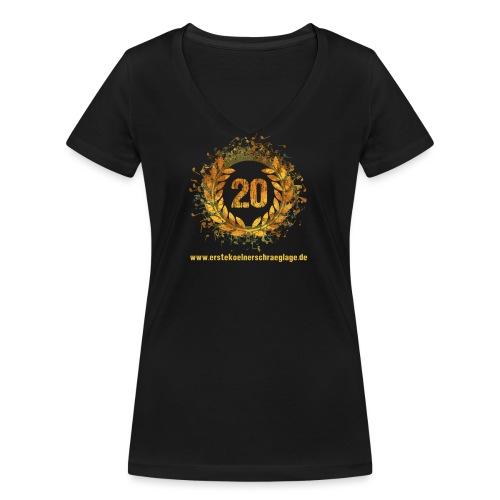 20 farbig freigestellt www png - Frauen Bio-T-Shirt mit V-Ausschnitt von Stanley & Stella