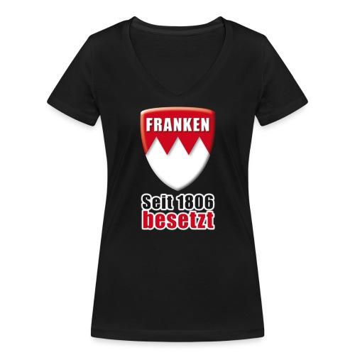 Franken - Seit 1806 besetzt! - Frauen Bio-T-Shirt mit V-Ausschnitt von Stanley & Stella
