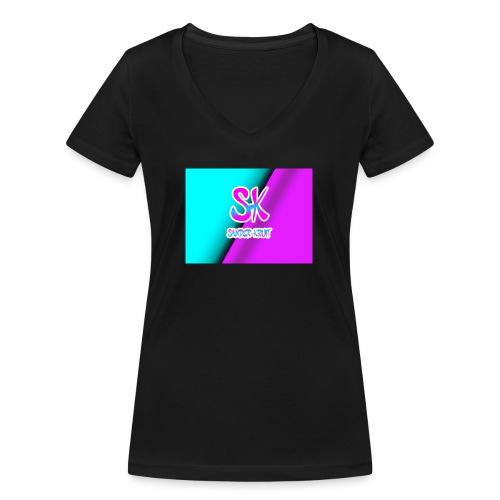 Sk Shirt - Vrouwen bio T-shirt met V-hals van Stanley & Stella