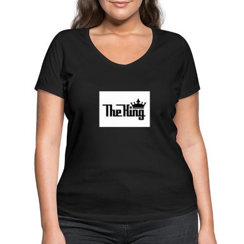 TheKing - Frauen Bio-T-Shirt mit V-Ausschnitt von Stanley & Stella
