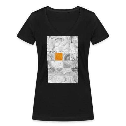 Cubes de Bois - T-shirt bio col V Stanley & Stella Femme