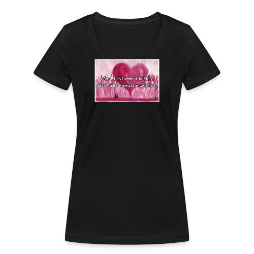 60v png - Frauen Bio-T-Shirt mit V-Ausschnitt von Stanley & Stella
